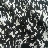 Silk Cdc Print in Black/White Design
