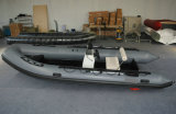 18.8FT Aluminum Hull 5.6m Inflatable Boat, Rib Boat, Fishing Boat, PVC or Hypalon Sport Boat