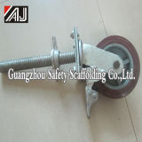 PU Scaffolding Wheel with Brake