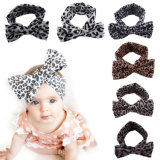 Fashion Animal Leopard Print Bowknot Hair Accessories for Babies