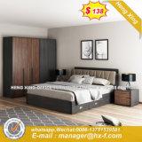 Inexpensive Wood Headboard High Grade Home Bed (HX-8ND9200)
