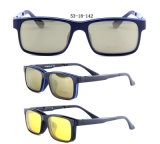 Factory Produce New Design Tr90 Optical Frames Magnetism Sunglasses