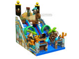 Wholesale Pirate Slide Fun Giant Slides Inflatable Outdoor Playground Chilldren Slide for Kids