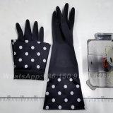 Long Cuff Waterproof Dishwashing Cleaning Household Latex Gloves Heavy Duty Long Rubber Glove