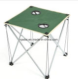 Outdoor Ultra Light Portable Green Oxford Cloth Folding Table
