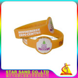 Best Price Personalized Silicone Bracelet with Silk Screen Printing Logo