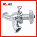 Stainless Steel Manual Flow Regulating Valve with Clamp Ends