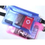 New Design Clear PVC Waterproof Fanny Pack Waist Belt Bag with Mobile Phone