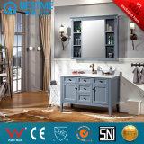 American Style Standing Floor Bathroom Cabinet in Solid Wood by-X7116