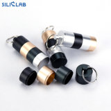 Portable Metal Tobacco Container DAB Tools Silicone Wax Container Smoking Accessories Stash Jar