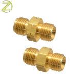Wholesale Connector Tube Threaded Reducer Hose Nipple Coppealuminum Steel Brass Pipe Fittings Suppliers