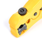UTP STP Round and Flat Network Cable Rg59 RG6 Rg11 Coax Cable Stripping Rotary Wire Stripper