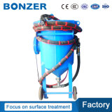 Household/Outdoor 8CF/200L Dry Portable Sandblasting Machinewith Manual/ Pneumatic Valve for Metal Parts Surface Treatment on Sale