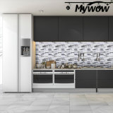 MyWow PVC Mosaic Tile Tiles Backsplash Peel and Stick