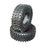 "1.9inch 1.9""Rubber 120mm Tires with Foam Sponge Insert for RC Car Remote Control Car Rock Crawler Climbing Car"