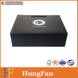Luxury Black Printing Packaging Paper Gift Bag with Spot UV Logo