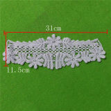 Netting Set Cotton Embroidery Lace Collar (cn123)