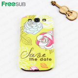 Freesub Sublimation Blank Cell Phone Case for Samsung 9300 (S3-L)