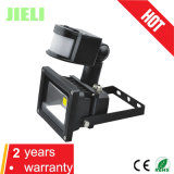 Hot Sale Waterproof 10W LED Floodlight with PIR Motion Sensor