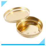 Metallic Vacuum Tinplate Container_for 250g Caviar