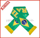 100% Acrylic Knitted Jacquard Fans Soccer Football Scarf