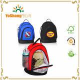 Folding Two Compartments Portable Cooler Lunch Bag