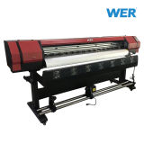 Wer-Es1601 Ce ISO Approved Best Price Dx5 Eco Solvent Printer 1.6m