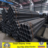 Black Round Mild Steel Pipes Price Q235B