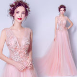 Wholesale Price Sexy Women Prom Long Evening Dress
