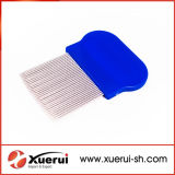 Stainless Steel Needle Plastic Hair Lice Comb