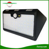 66 LEDs High Lumen Solar Motion Sensor Light Outdoor Waterproof Security Wall Lamp Solar Gardent Light