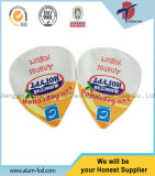 Triangle Plastic Food Cup Aluminum Foil Sealing Cover