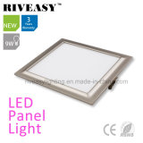 Electroplated Aluminum 9W Grey LED Panel Light