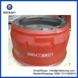 Truck Brake Drums OEM 3464230601 Auto Parts for Mercedes Benz