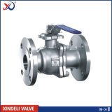 Factory 2PC Stainless Steel Flanged End Floating Ball Valve (300lbs)