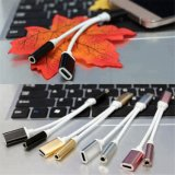 3.5mm Headphone Jack Adapter 2 in 1 Audio Cable for Type C Phone