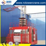 The Wholesale Construction Elevator with Double Cages 2 Ton for Bridge