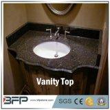 China Black Granite Countertop Vanity Top for Bathroom/Home Decoration