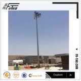 FT Hot DIP Galvanized Flood Light High Mast Steel Pole