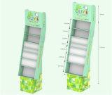 High Quality Supermarket Oil Paper Stands Corrugated Cardboard Displays