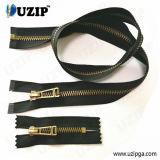 No 5 Custom Metal Zipper Anti Brass and Different Types Metal Finished Zipper