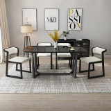 Wood Table and Chair Restaurant Furniture Dining Set for Home