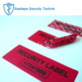 Adhesive Tamper Proof Non-Residue Security Warranty Void Printable Sticker Label