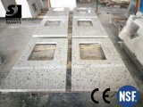 Quartz Stone Countertops with Multicolor for Kitchen, Vanity, Hotel Project