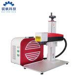 Economic Professional Bjjcz Ezcad Mini Fiber Laser Marking Engraving Cutting Machine 20W 30W 50W Price with Sino Galvo Scan Head
