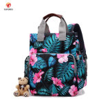 China Wholesale Multifunctional Mummy Baby Diaper Backpack Bag for Ladies