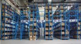 Warehouse Portable Steel Stacking Tyre Rack