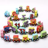 Education Toys Magnetic Wooden Numbers Train