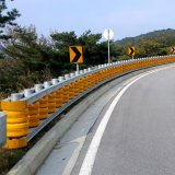 Road Construction Barrierw Beam Guardrail Price Safety Roller Guardrail
