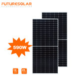 21% Efficiency 530W 540W 550W PV Module 580W 590W 600W Perc Monofacial Solar Panel Half Cell 182mm